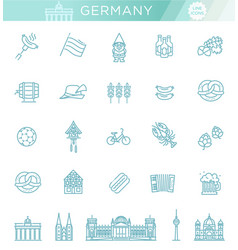 traditional symbols of culture architecture and vector image vector image