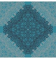 Carpet Mandala Print vector image