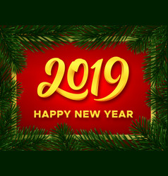 Happy new year 2019 background banner vector