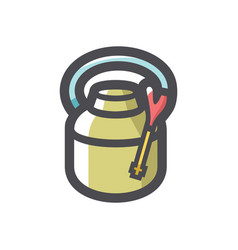 insect poison spray icon cartoon vector image