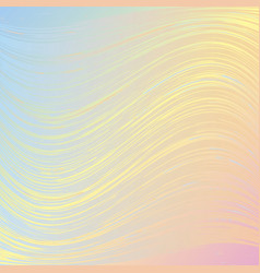 Pink blue pastel wavy background vector