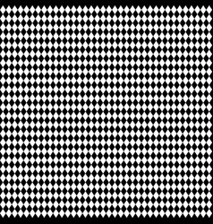 tilted diagonal squares rhombus pattern repeat it vector image