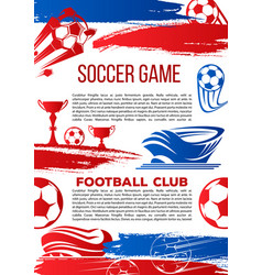 banner for football college league game vector image