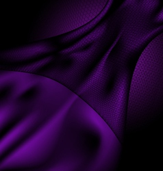 Dark purple silk and veil vector