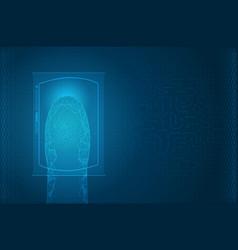Futuristic digital processing of biometric vector