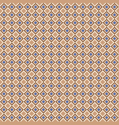 geometric seamless pattern with color diagonal vector image