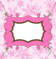 girl template vector image