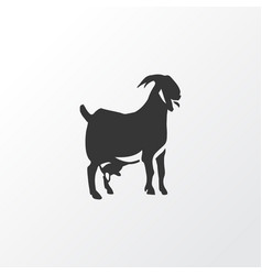 Goat icon symbol premium quality isolated vector