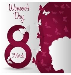 Happy womens day design vector