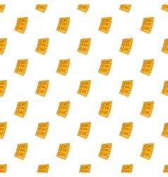 Idea plan work to do list pattern cartoon style vector