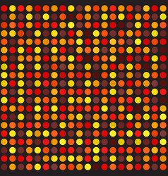 polka dot pattern seamless dot background vector image