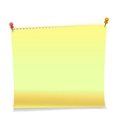 realistic sticky notes paper sheets templates vector image