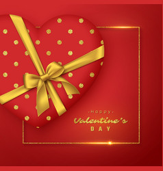 Valentines day holiday background vector