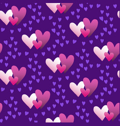 valentines hand drawn gradient pattern-03 vector image