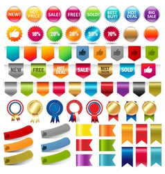 Various labels vector