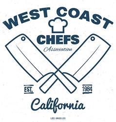 Chefs Vintage T-shirt graphics print vector image