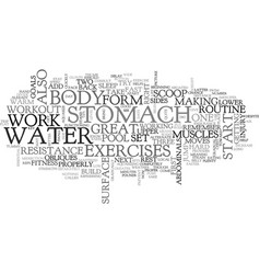Aquarius text word cloud concept vector