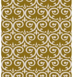 curl seamless pattern vector image