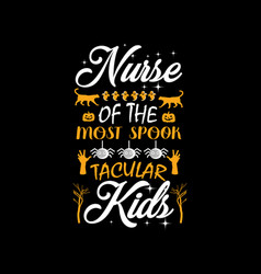 nurse most spook tecular kids vector image
