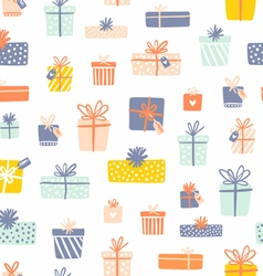 Party presents seamless pattern vector