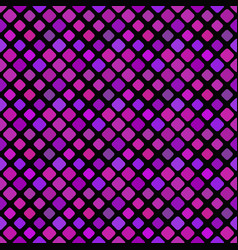 seamless dark purple abstract square pattern vector image