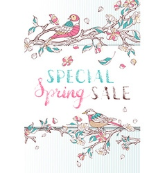 Special Spring Sale vector image