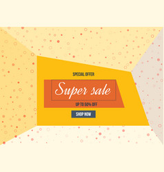 Super sale special offer big sale special up to vector