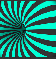 tunnel template optical curved vortex hole vector image