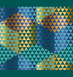 geometry motif in luxury carnival style harlequin vector image vector image