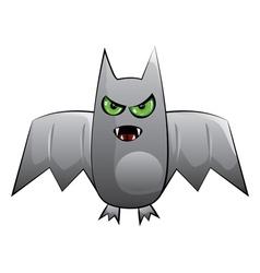 Halloween bat vector image