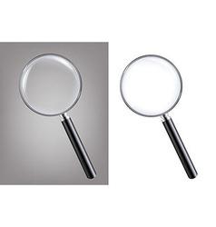 Magnifiers Set vector image