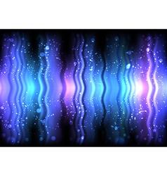 Abstract shiny waves vector image