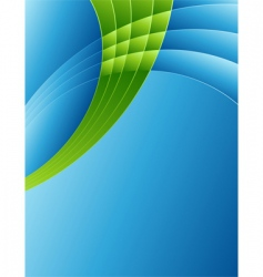 abstract background in blue vector image vector image