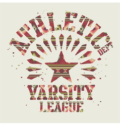 Native Americans athletic vector image vector image