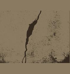 Broken wall grunge design vector