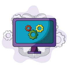 Business idea doodle vector