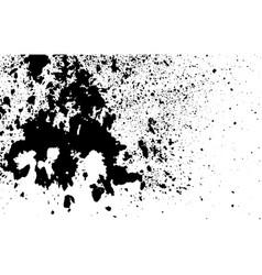 Ink abstract grunge textured print spot dot vector