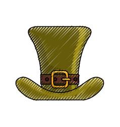 Irish elf hat vector
