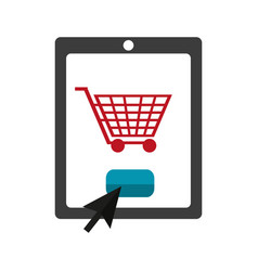 Online shopping and payment vector