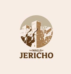 Walls jericho symbol vector
