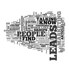 Where do you find mlm leads part two text word vector