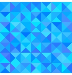 Abstract Blue Background with Triangle Shape vector image