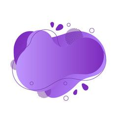 abstract fluid design element vector image
