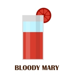 Blood mary vector image