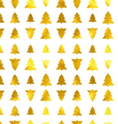 Christmas tree seamless background vector