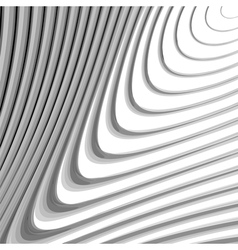 Design monochrome whirl lines motion background vector