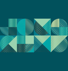 geometric luxury seamless pattern for background vector image