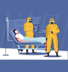 Infectious disease hospital composition vector