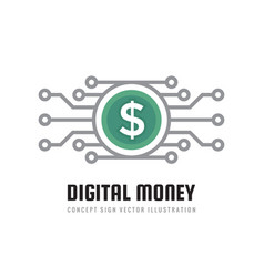 Mobile speed payment digital money dollar vector
