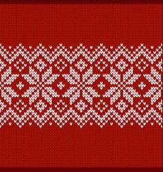 Norwegian native style sweater ornament vector